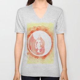 Buddha YinYang Unisex V-Neck