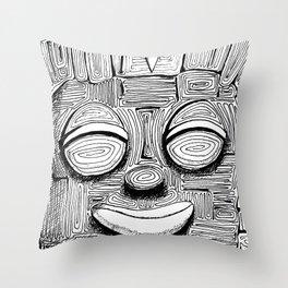 '恐怖核心與小鳥 Scarecore and Bird' Cover Illustration 2 Throw Pillow