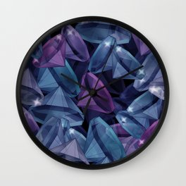 Gems . The alexandrite . Wall Clock