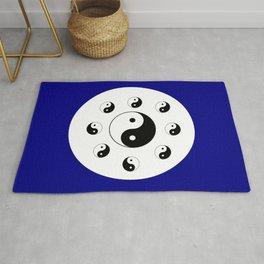 Yin and Yang 14 - Tao,Zen,Taoism,Dao,Harmony,religion,buddhism,buddhist,taijitu,taiji,taoist,china Rug