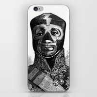 wrestling iPhone & iPod Skins featuring WRESTLING MASK 10 by DIVIDUS
