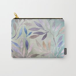 Painted Leaves 2 - color variation Carry-All Pouch