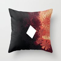 florida Throw Pillows featuring Florida by Laura Campuzano