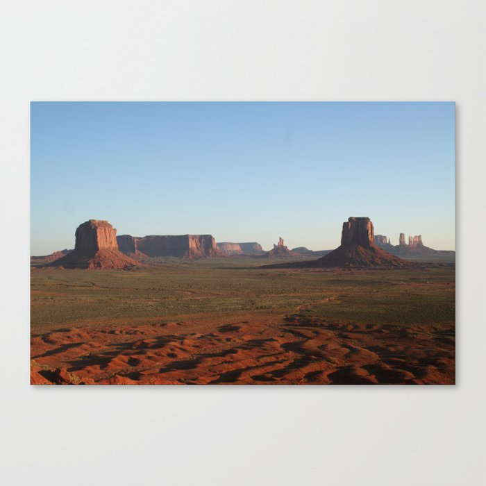 Calm West I Canvas Print