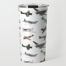Multiple WW2 Airplanes Travel Mug