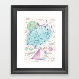 Soft Parrot Framed Art Print