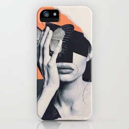 collage art / butterfly iPhone Case