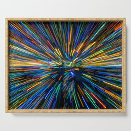 Explosion of Color Serving Tray