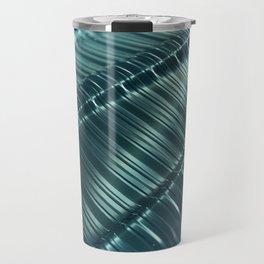 Metal Techno Surface Travel Mug