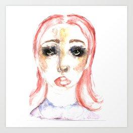 CLOWNISH. Art Print