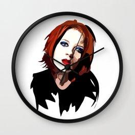 Shirley Manson Wall Clock