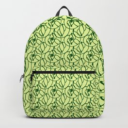 St. Patrick's Day Clovers Backpack