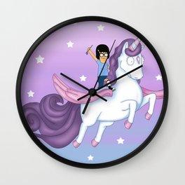 Tina's Unicorn Wall Clock