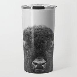 Buffalo Print, Bison Wall Art, Photography Print Travel Mug