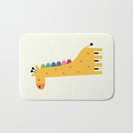 Giraffe Piano Bath Mat