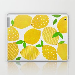 Lemon Crowd Laptop & iPad Skin
