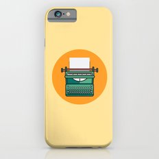 Typewriter Icon iPhone 6s Slim Case