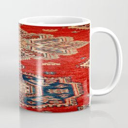 Natural Dyed Handmade Anatolian Carpet Coffee Mug