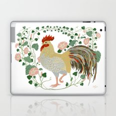 Rooster and morning glory Laptop & iPad Skin