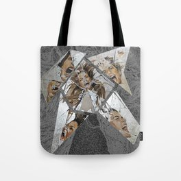 Happiness Shattered Tote Bag