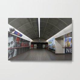 Corridor Granville Skytrain Station Metal Print