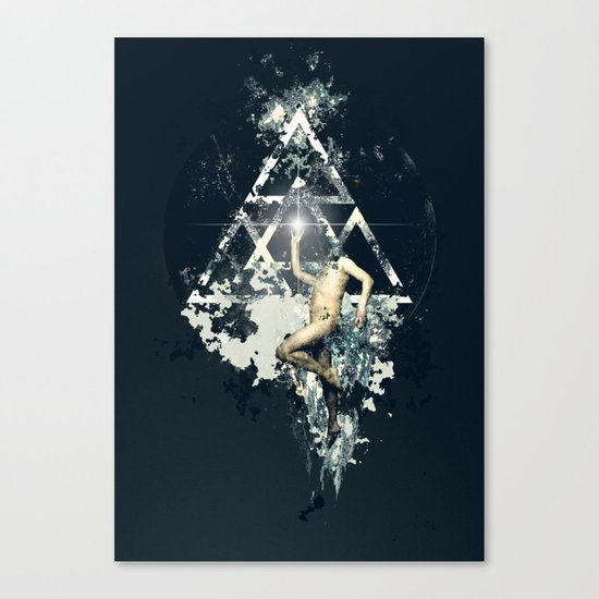 Omega Code poster Canvas Print