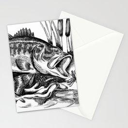 Black Bass Stationery Cards