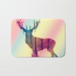 Deer colorful Bath Mat