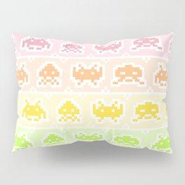 Pixel Invaders Pillow Sham