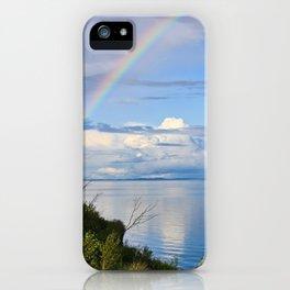 Rainbow Lake iPhone Case