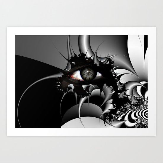 I see it in Black and White Art Print