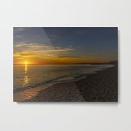 Sunset at West Bay 3 Metal Print