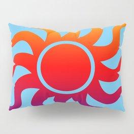Rainbow Sun Pillow Sham
