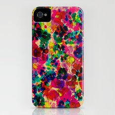Floral Explosion Slim Case iPhone (4, 4s)