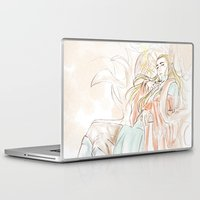 hobbit Laptop & iPad Skins featuring Thranduil_The Hobbit by JoySlash