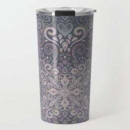 Vintage Ornate Watercolor Travel Mug