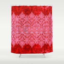 ABERDEEN HEIRLOOM, LACE & DAMASK: GOTHIC VALENTINE Shower Curtain