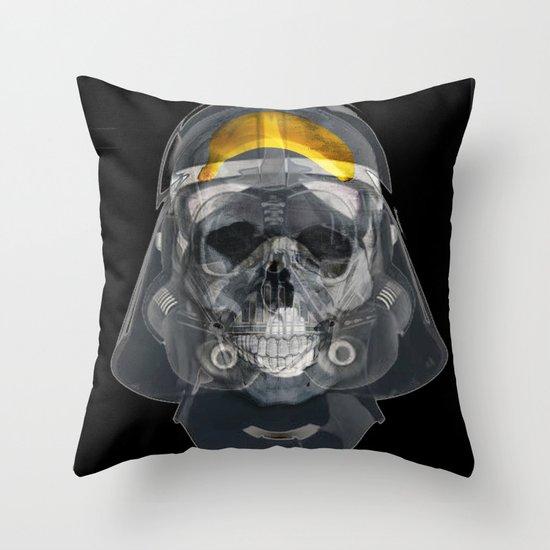 vader xray Throw Pillow