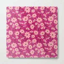 Cosmea pink Metal Print