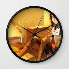 Makise Kurisu Steins;Gate Wall Clock