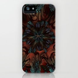 Sunburst Supernova iPhone Case