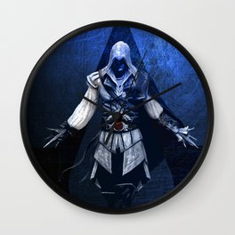 Assassin's Creed Ezio Poster Wall Clock