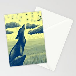 Song of the Night Stationery Cards