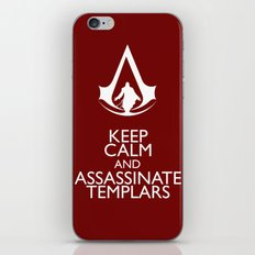 Keep calm and assassinate Templars iPhone & iPod Skin