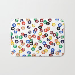 Pool Balls Bath Mat