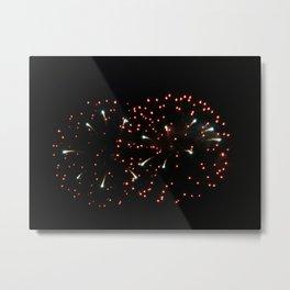 Fireworks 20 Metal Print