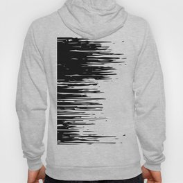 Carefree Black and White Hoody