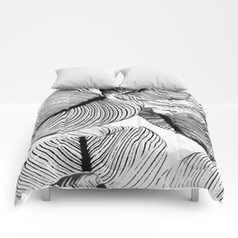 Unbridled - bw Comforters