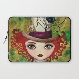 Lady Hatter Laptop Sleeve