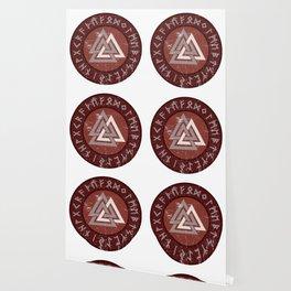 Valknut | Viking Warrior Symbol Triangle Wallpaper